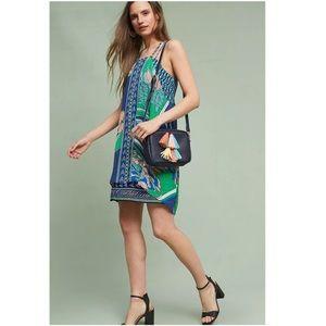 Anthropologie   Maeve Layered Silk Dress Size Med